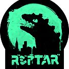 Repzilla (sticker) by RebelArts
