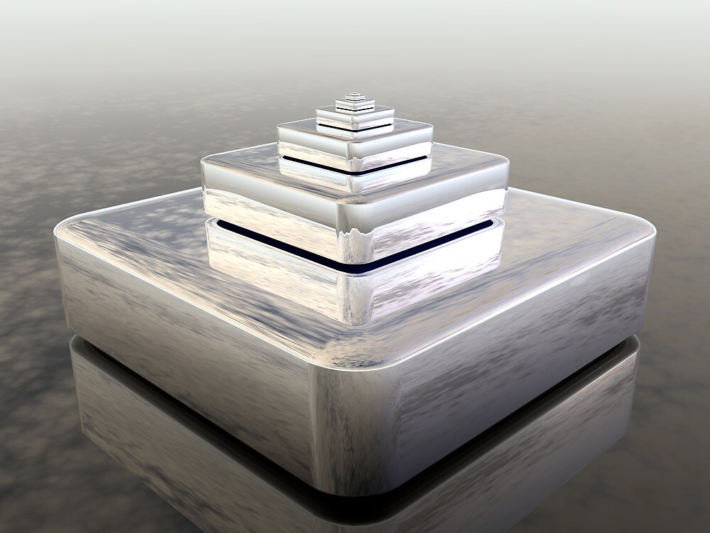 Eight Stack Reflection by Hugh Fathers