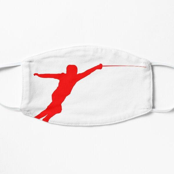 Red Fencer Flat Mask