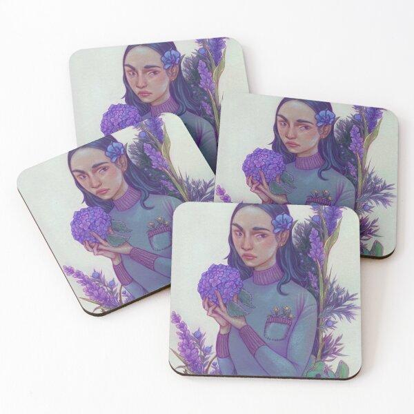 Thistle Coasters (Set of 4)