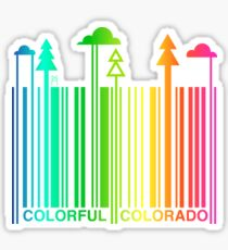 COLORFUL COLORADO Sticker