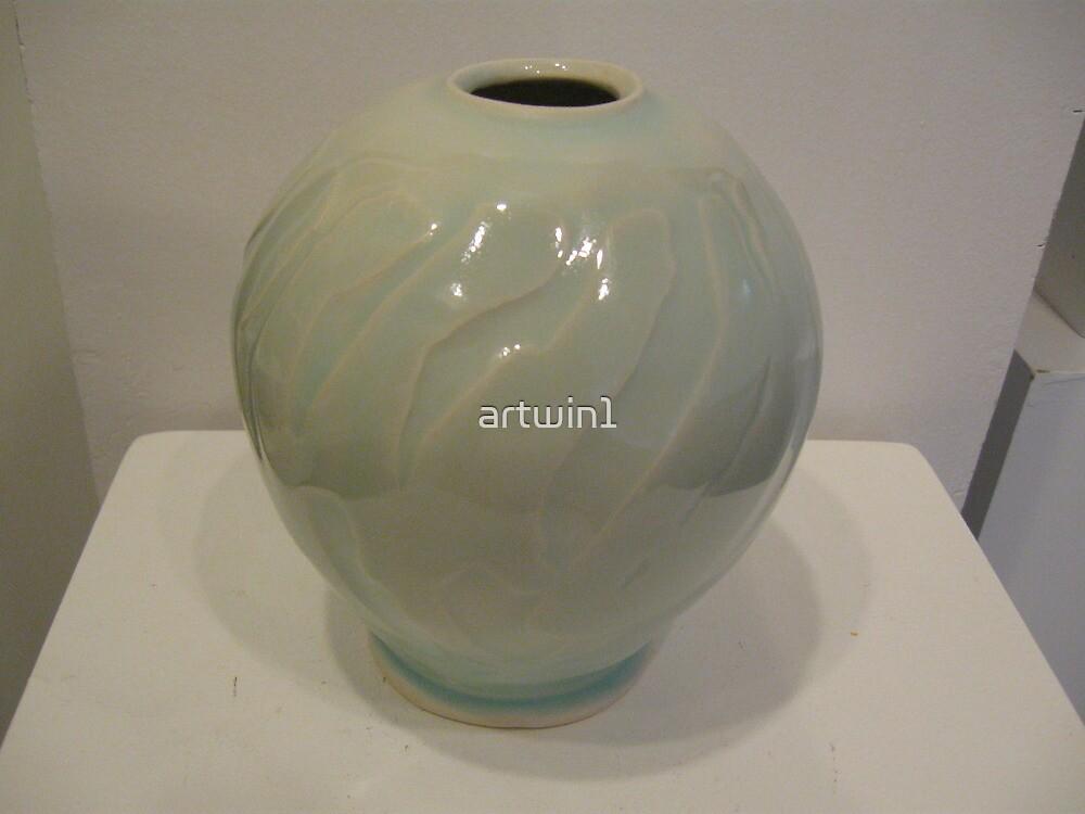 Sea breeze Vase by artwin1