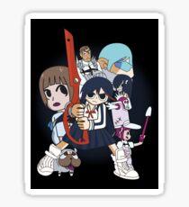 Ryuko Matoi vs The School (sticker) Sticker