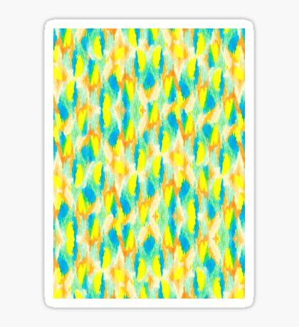 Neon Camouflage Sticker