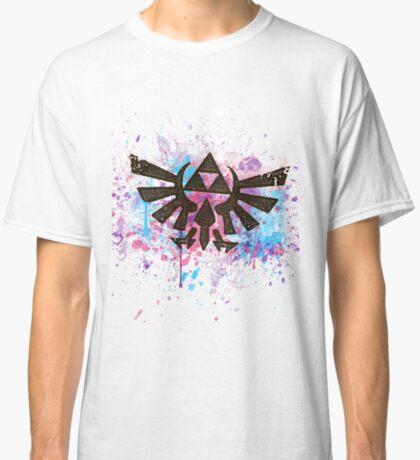 Triforce Emblem Splash Classic T-Shirt