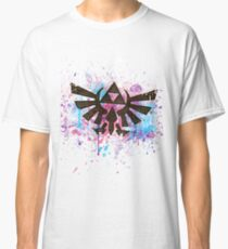 Triforce Emblem Splash Classic T-Shirt