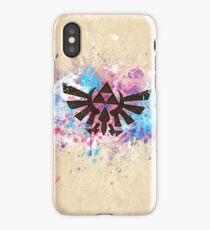 Triforce Emblem Splash iPhone Case