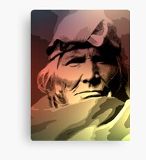 A Zuni Elder Canvas Print