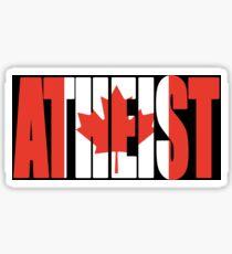 Canadian Atheist  Sticker