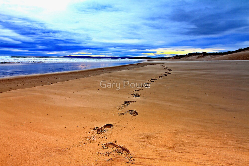 Steps into Lossiemouth by Gary Power