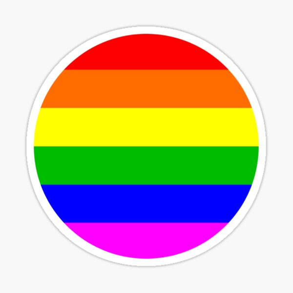 Love & Pride Dot Rainbow Sticker