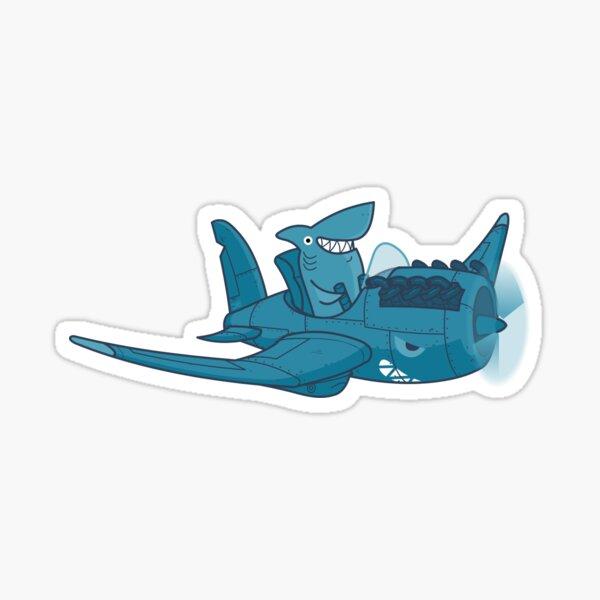 Shark Outta' Water - sticker Sticker