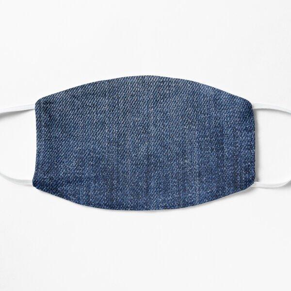 Jean bleu denim Masque sans plis