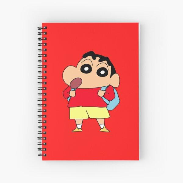 Shin Chan ク レ ヨ ン し ん ち ゃ ん Cuaderno de espiral