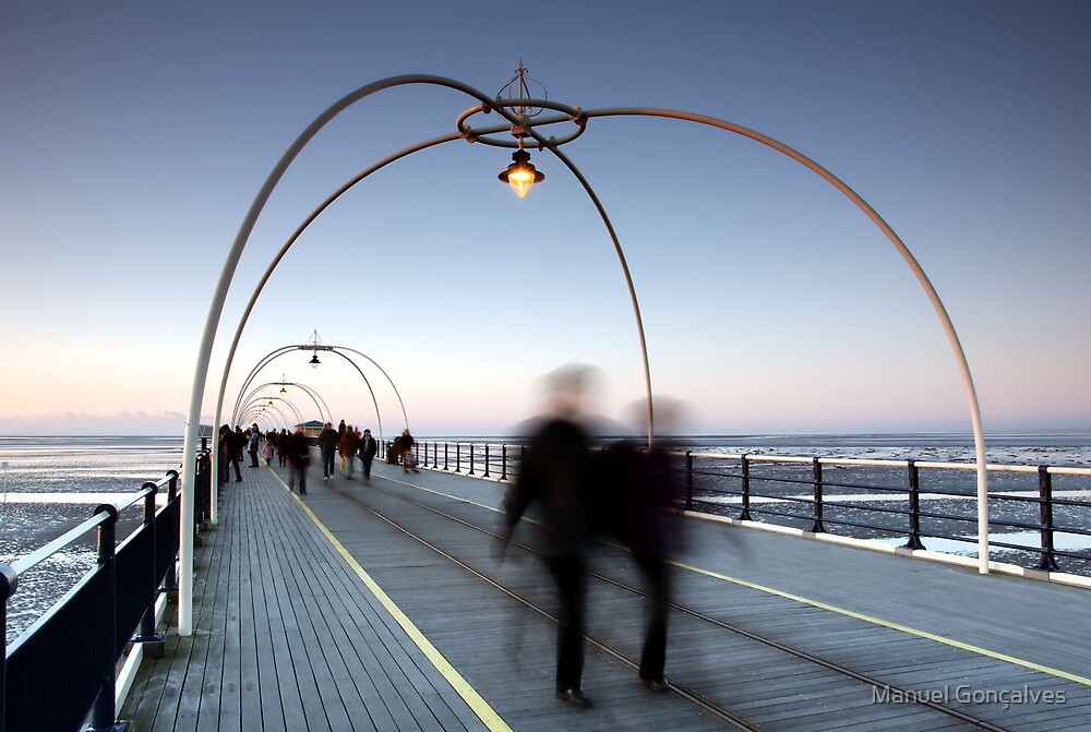 Southport Pier by Manuel Gonçalves