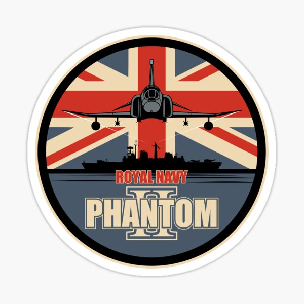 Royal Navy F-4 Phantom II Sticker