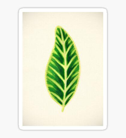 Tropical Leaf I Sticker