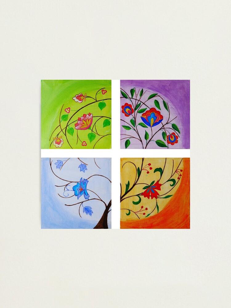 The Four Seasons Photographic Print By Olgarobinson Redbubble