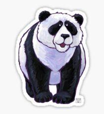 Animal Parade Panda Bear Silhouette Sticker