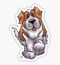 Animal Parade St. Bernard Silhouette Sticker