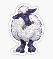 Animal Parade Sheep Silhouette Sticker
