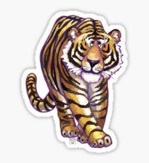 Animal Parade Tiger Silhouette Sticker