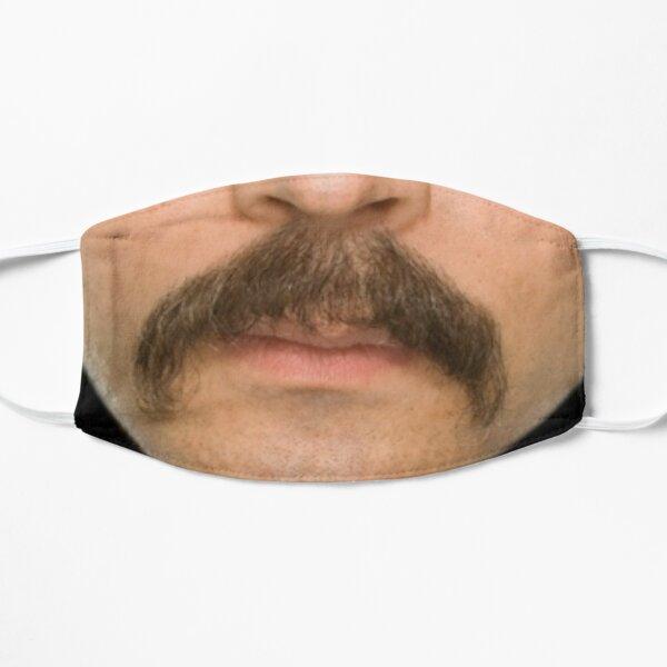 The mustache Flat Mask