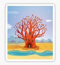 The Bunyip Tree Sticker