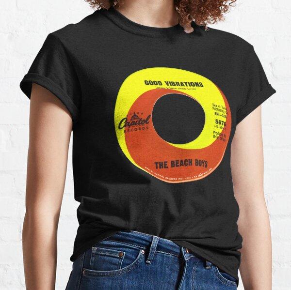 The Beach Boys Good Vibrations label Classic T-Shirt
