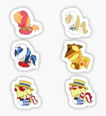 Sleepy Ponies - Colt Set Sticker