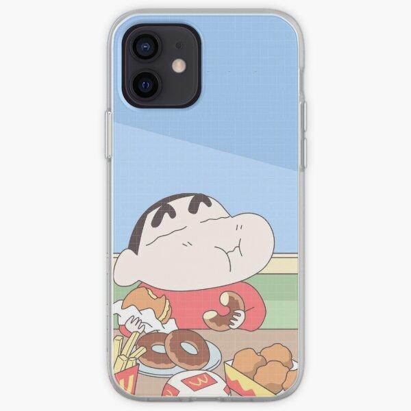 Shin Chan ク レ ヨ ン し ん ち ゃ ん Funda blanda para iPhone