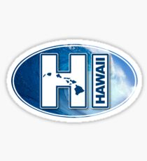 Big Wave Hawaii - HI Sticker