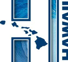 Big Wave Hawaii - HI Sticker