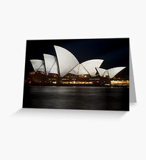 Vivid Opera Greeting Card