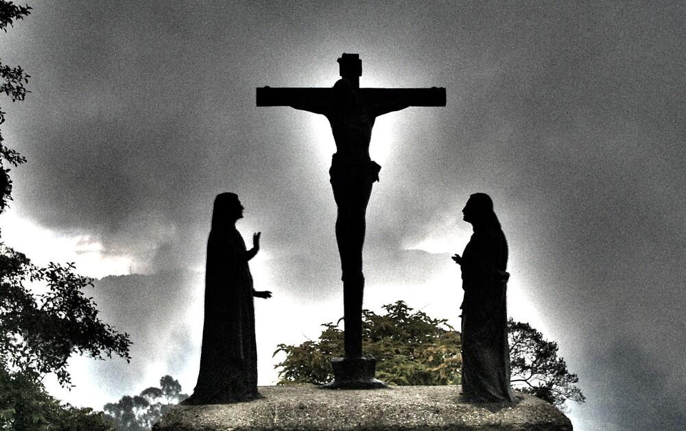 Monserrate Christ, Bogota, Colombia  by Zach Chadim