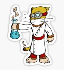 Dr Frankencat Sticker