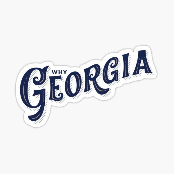 """Why Georgia"" John Mayer Edition Sticker"