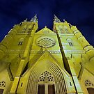 St Mary's Cathedral by Len  Gunther