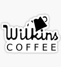 Wilkins coffee sticker Sticker