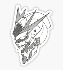 Gundam x Eva  Sticker