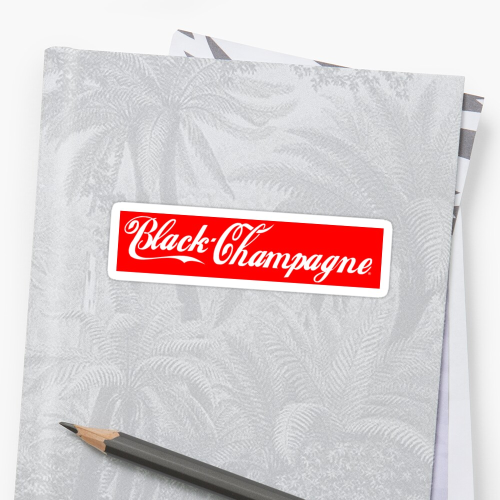 black champagne sticker by LaunchLand