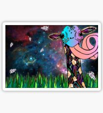 Intergalactic Giraffe Sticker