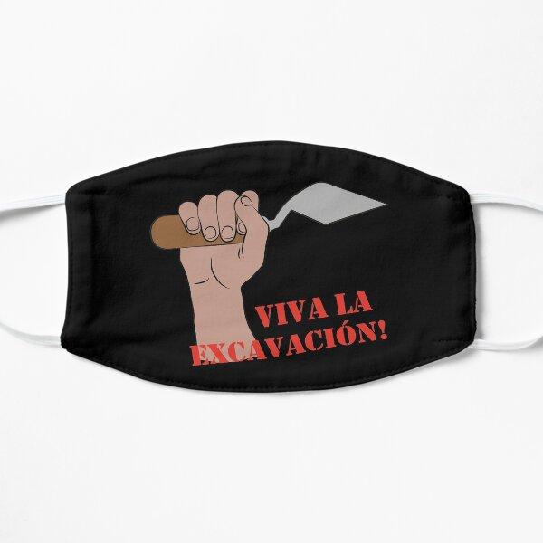 Viva la excavacion  Mask