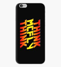 Think, McFly, Think  iPhone Case