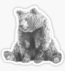Lonely Bear Sticker
