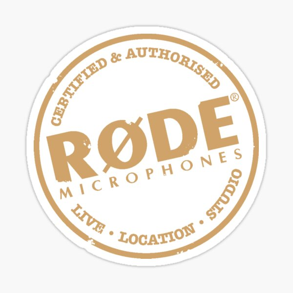 RØDE Microphones - Logo Sticker