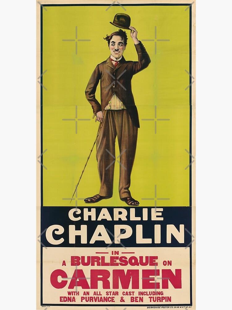 Charlie Chaplin Poster - Carmen de Harmal