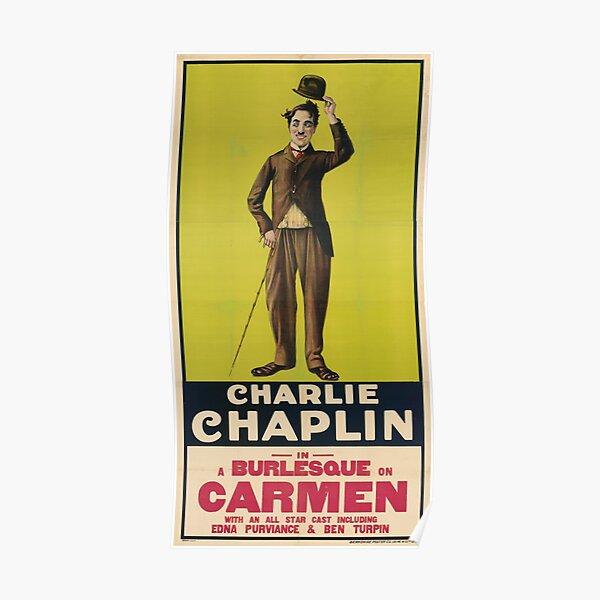 Charlie Chaplin Poster - Carmen Póster