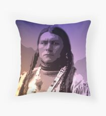 Juan Jose - Pueblo Santa Clara Throw Pillow