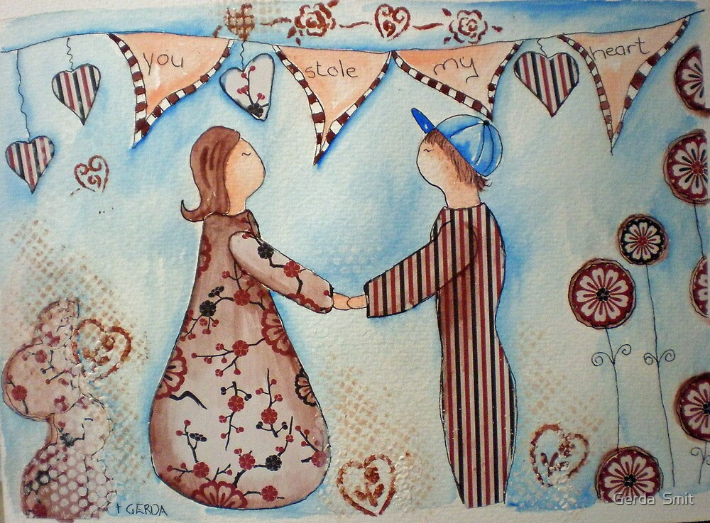 Love by Gerda  Smit